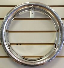 "13"" NEW Plastic Chrome Wheel Beauty Rings TRIM RING"