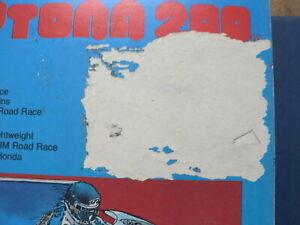 DAYTONA 200 40TH ANNUAL 1981 PROGRAM RACE CROSS,PATRICK PONS,SPENCER,CROSBY,