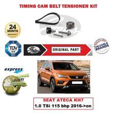 GATES CAMSHAFT TIMING BELT KIT for SEAT ATECA KH7 1.0 TSi 115 bhp 2016->on 999cc