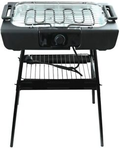 Tischgrill Standgrill Barbecue Grill Thermostat elektrisch Elektrogrill Barbeque