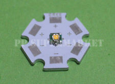 5pcs Cree XP-G XPG R5 5w warm white 3000-3500k LED Emitter chip With 20mm star