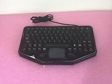 iKey SkinnyBoard USB mobile keyboard SB-TP-M-USB touchpad Red backlight