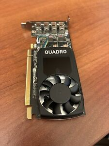 Nividia 4GB GDDR5 P1000 Graphics Video Card NO BOX Card Is Brand New and Unused