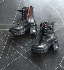 New Rock Schuhe Damen - Stiefel Absatz Boots Gothic M-NEOTYRE07-S1 * Neuwertig *