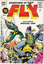 Adventures of The Fly #2 (Sept 1959)  Al Williamson, Joe Simon & Jack Kirby art