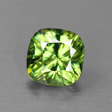 4.3MM GORGEOUS CUSHION CUT DEMANTOID GARNET 0.46CTS VIDEO LINK IN DESCRIPTION