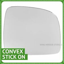 Right Driver Side WING DOOR MIRROR GLASS For VW Caddy 2004-2015 Stick On