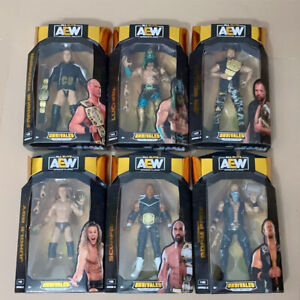 AEW Unrivaled 5 Scorpio Sky Jungle Boy Luchasaurus Wrestling Action Figure Toys