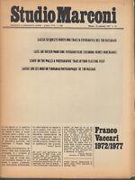 Studio Marconi 27 Gennaio 1977 n.10 Franco Vaccari 1972-1977 fotografia Merz ecc