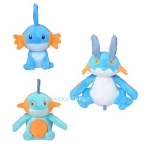Dolls Stuffed Animal pokemontreecko Plush Figure Toys MUDKIP Lapra 4PCS Child