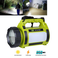 LED USB Rechargeable Camping Lantern Power Bank Super Bright Flashlight Lamp 10W