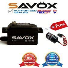 Savox SC-1251MG-BE High Speed Low Profile Servo+ Free Glitch Buster