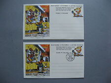 FINLAND, 2x ill. postage paid cover 1994, mint and FDC, Children's book M Kunnas
