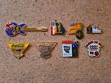 8 COCA COLA SYDNEY ATLANTA  OLYMPIC PINS