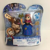 Disney Frozen Little Kingdom Anna With Sven Snap Ins Carrot Hasbro New