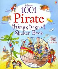 1001 Pirate Things to Spot Sticker Book by Rob Lloyd Jones (Paperback, 2014)