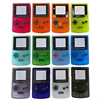 Nintendo GameBoy Color Shell Housing Replacement Game Boy GBC IPS V2 or Q5 Ready