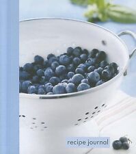 Blueberry Colander Small Recipe Journal by (Cor), Spank -Hcover
