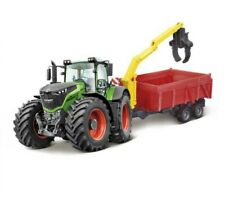 Fendt Vario 1050 Diecast Tractor & Combination Trailer.1:50 Scale.Farm Model Toy