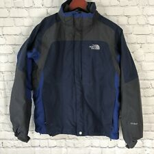The North Face HyVent Mens Small Jacket 3 In 1 Winter Jacket Coat Navy Blue
