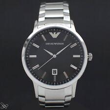 EMPORIO ARMANI reloj de hombre ar2457 color: PLATA / Acero Inoxidable Negro