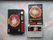 Jeu Super Nintendo / Snes Game Nba Jam TE (Tournament Edition) PAL CIB Complet *