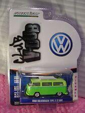 Greenlight Club V-Dub 1968 VOLKSWAGEN TYPE 2 T2 BUS∞two-tone Green; white∞VW∞r4