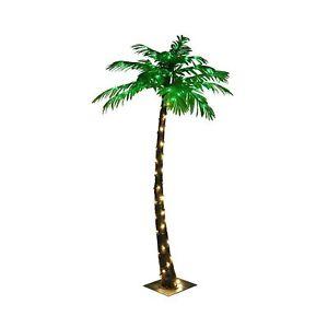 LIGHTSHARE Lighted Palm Tree, Small 5-Feet