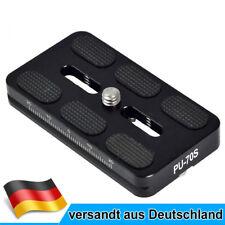 MENGS PU-70S Schnellwechselplatte mit Aluminium Für DSLR Kamera & Arca-Swiss