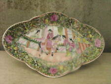 More details for superb chinese famille rose old  hand painted 12