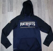 Men's Patriots On Field Nike Hoodie Size Small