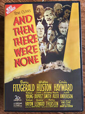 Then There Were None ~ 1945 AGATHA CHRISTIE Clásica RARO VCI REGIÓN 1 DVD