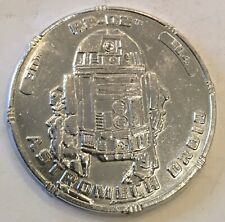 Star Wars Revenge Of The Sith Astromech Droid R2-D2 Coin Medal