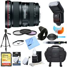 Canon EF 17-40mm F/4 L USM Lens Ultimate Accessory Bundle