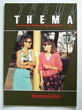 THEMA: KOMMUNIKATION 9/1990 (Forschung & Wissenschaft an Schweizer Hochschulen)