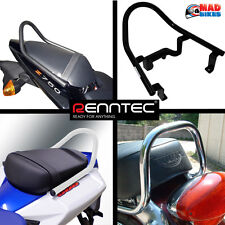 Renntec Pillion Grab Rail Grab Handle (Black) Triumph Street Triple 2008 2009