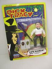 """""""Lips Manlis"""" Dick Tracy Action Figure - Coppers and Gangsters - 1990 Playmates"""