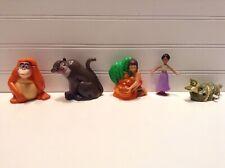 Disney Jungle Book Bagheera Mowgli Louie Plastic Figures Lot Set Of 5