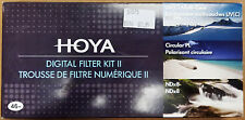 NEW Hoya 46mm Digital Filter Kit II: HMC UV, Slim CPOL Circular Polarizer, ND8