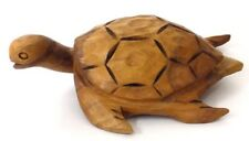 Hand Carved Wooden Sea Turtle