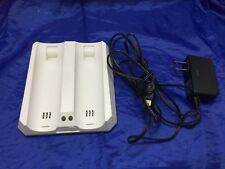 2 Rechargeable Battery Remote Controller Charger Dock Nintendo Wii 22644