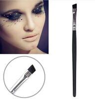Professional Angled Eye Brow Eye Shadow Brush Liner Contouring Tool Salon UK