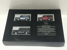 Wiking/Herpa 1:87 Mercedes Benz 5. Intern. Off-Road Geländewagen Set OVP