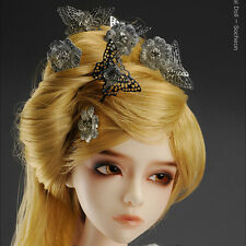 Dollmore BJD Accessory SD&Model Size - Flying Butterfly Binyeo (WhiteGold)
