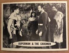 SUPERMAN 1966 TOPPS FIGURINA #40 ex condizioni DC FUMETTI IL CAVERNICOLO