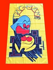 LARGE PacMan Arcade Video Game Banner Flag Poster