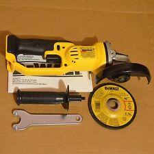 "DEWALT DCG412B 20V MAX Li-Ion 4-1/2"" Cut Off Tool Cordless Angle Grinder"
