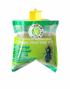 Fly Trap Bag Catcher Kills 20,000 Flies Insects Pest Control Killer