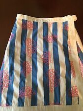 Lilly Pulitzer reversible skirt  wrap style Size 0 Pre-owned