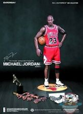1/6 Real Masterpiece NBA Michael Jordan #23 Road red Jersey Enterbay RM-1042